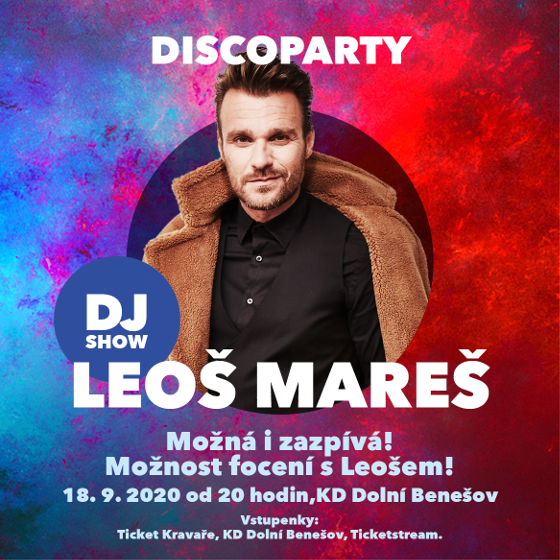 DJ Show Leoš Mareš<br>Discoparty