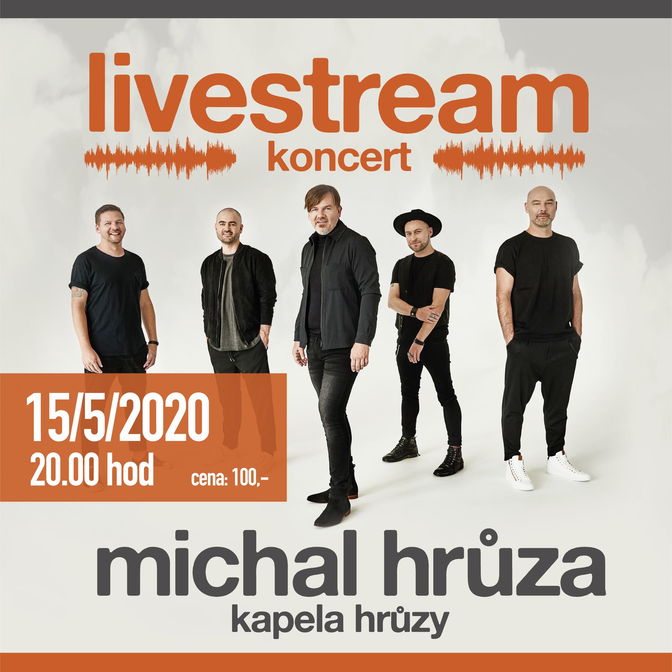Michal Hrůza<br>Livestream koncert