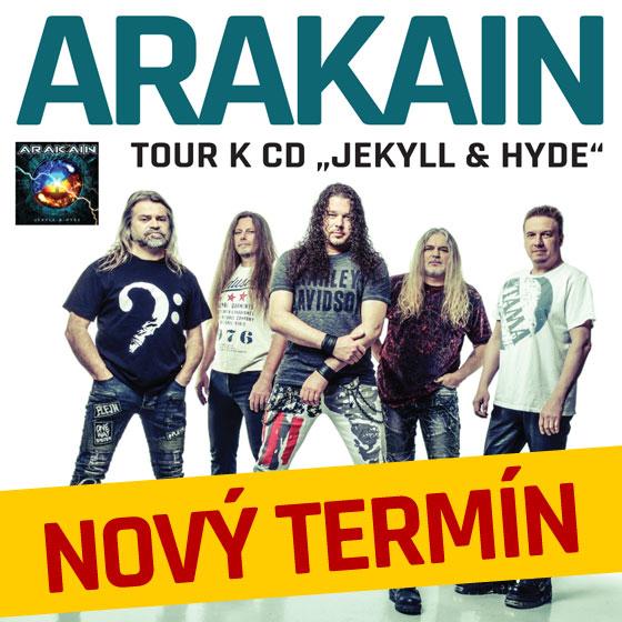 Arakain<br>Tour k CD Jekyll & Hyde 2020