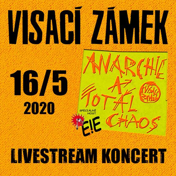 Visací zámek + E!E<br>Punk ani Koronáč nezastaví!<br>Livestream