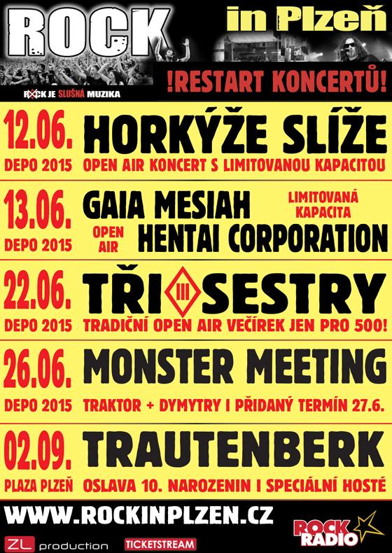 Horkýže Slíže<br>Rock in Plzeň