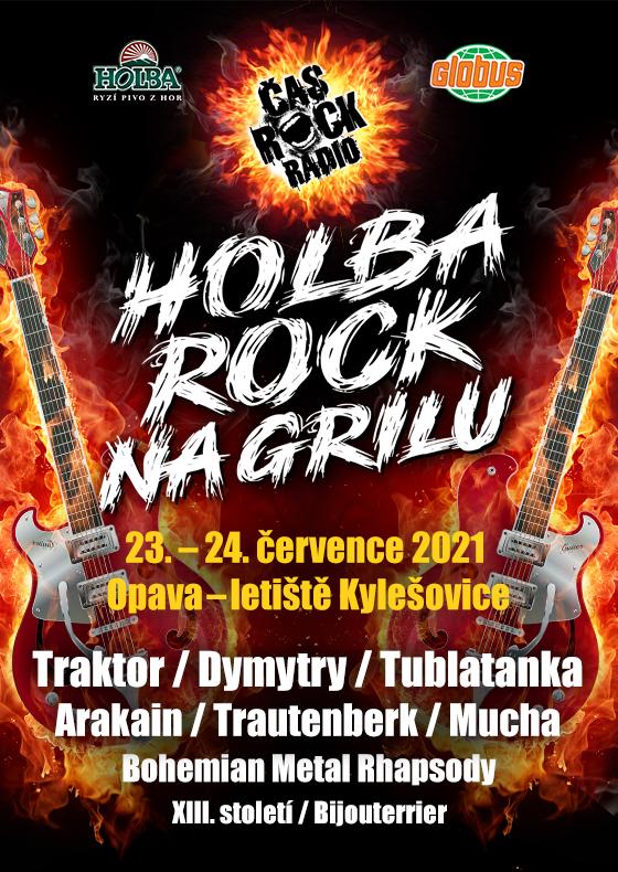 Holba Rock na grilu