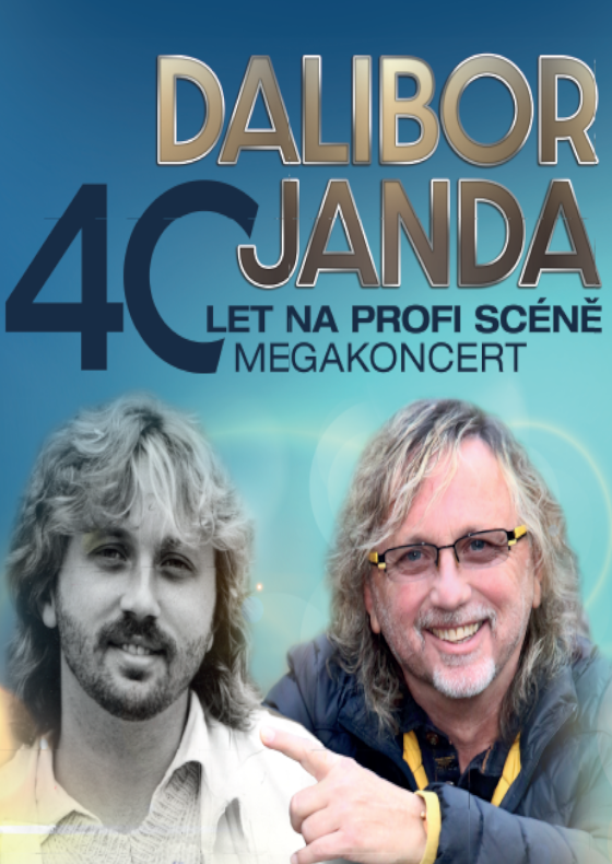 Dalibor Janda - tour 40 let