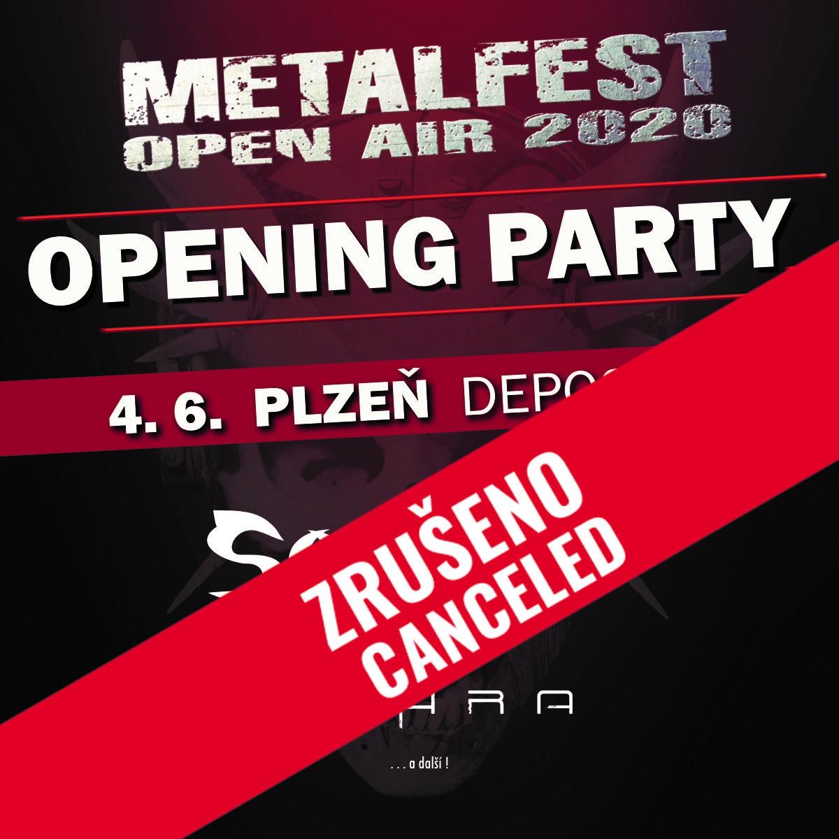 Metalfest Opening Party<br>Soulfly, Cyhra<br>Platné pouze se vstupenkou/páskou na Metalfest