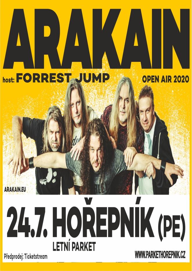Arakain<br>Předkapela: Forrest Jump