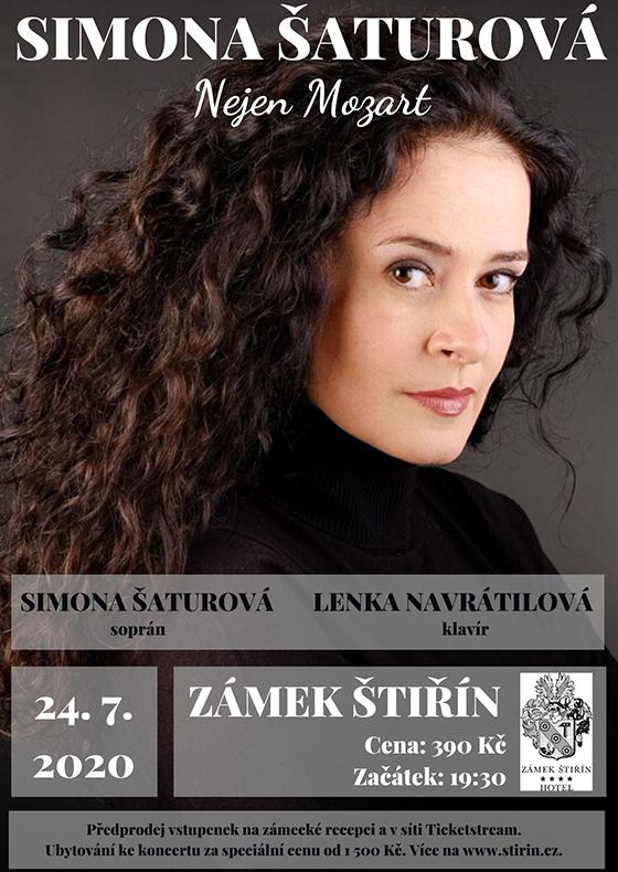 Letní setkání s operními hvězdami<br>Simona Šaturová, Lenka Navrátilová<br>Nejen Mozart
