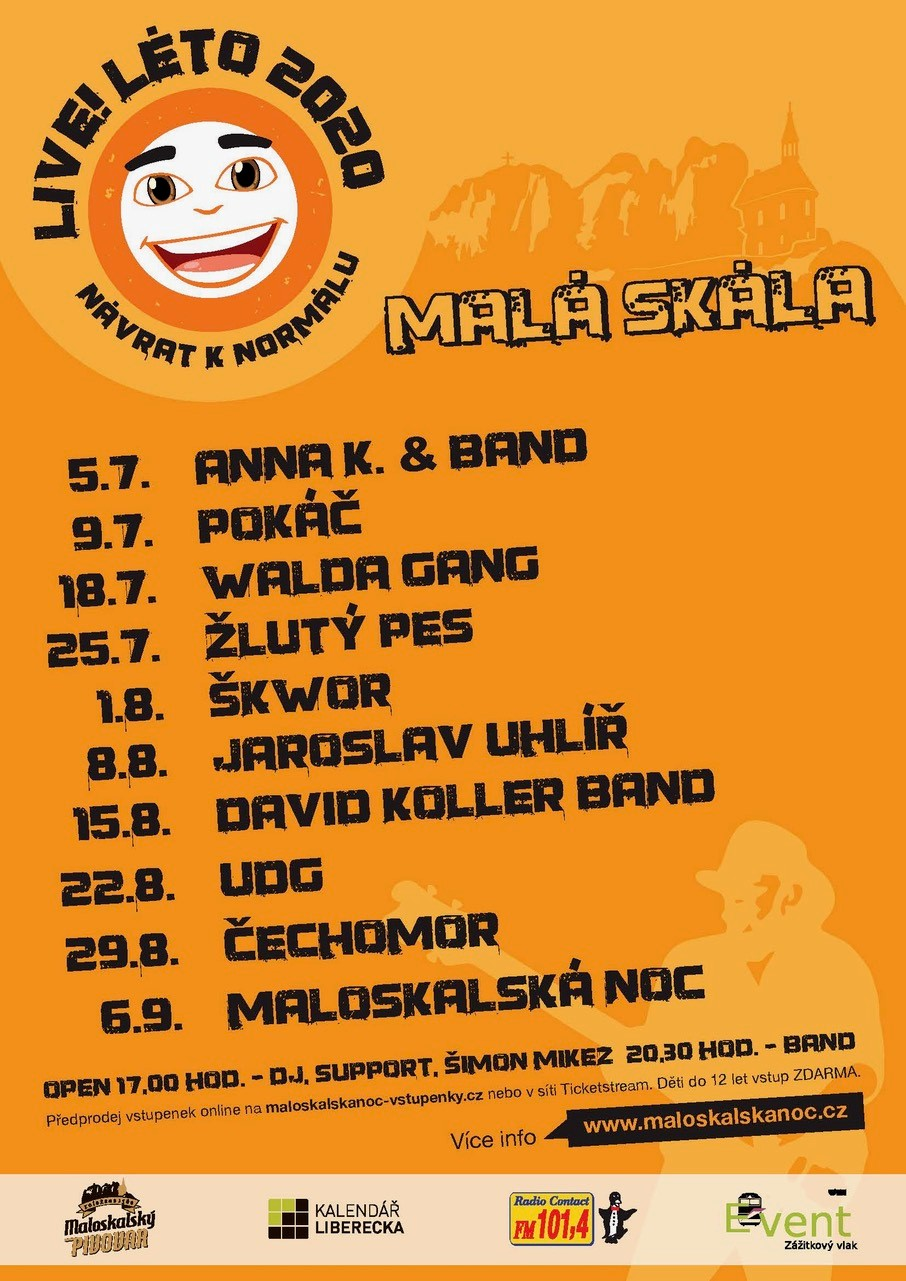 Live!Léto 2020<br>Walda Gang