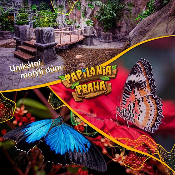 Papilonia<br>Motýlí dům
