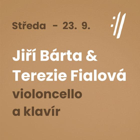 Jiří Bárta, Terezie Fialová<BR>International Music Festival Český Krumlov 2020
