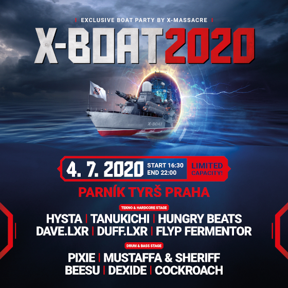 X-Boat<br>Exclusive Boat Party by X-Massacre