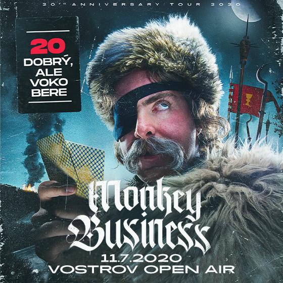 Monkey Business<br>20 dobrý, ale voko bere