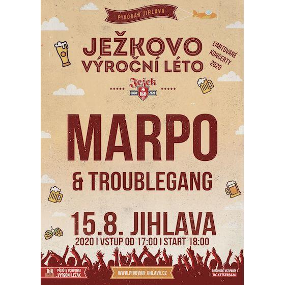 Marpo & Troublegang<br>Ježkovo výroční léto