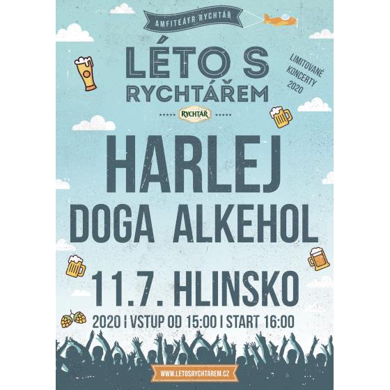 Harlej, Alkehol, Doga<br>Léto s Rychtářem 2020