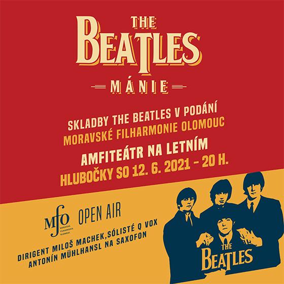 Beatles Mánie<br>Open Air Koncert