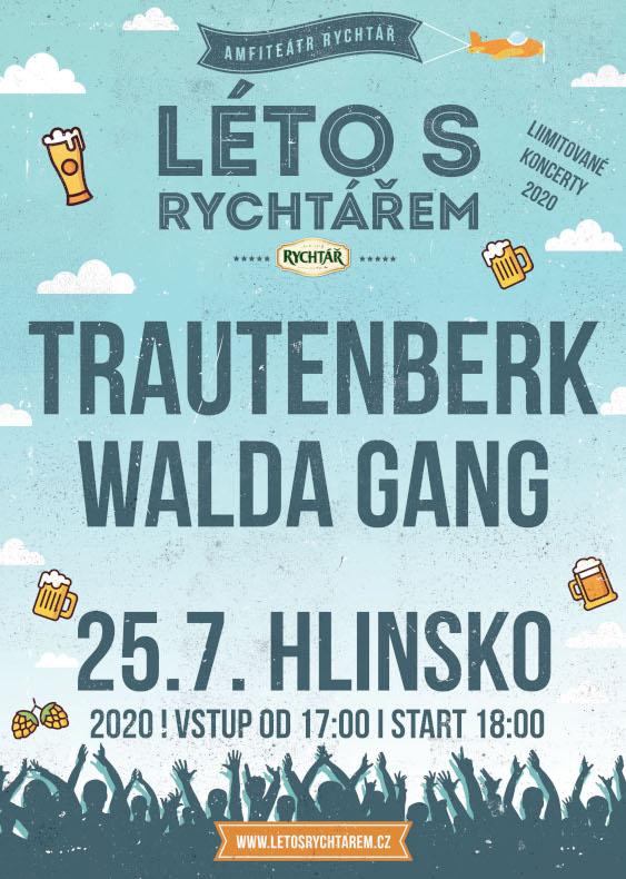 Trautenberk tanz metal<br>Walda Gang<br>Léto s Rychtářem 2020
