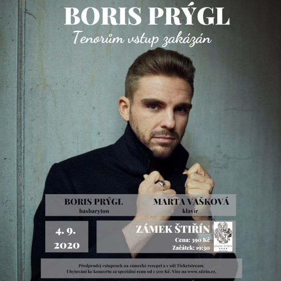 Letní setkání s operními hvězdami<br>Boris Prýgl a Marta Vašková<br>Tenorům vstup zakázán