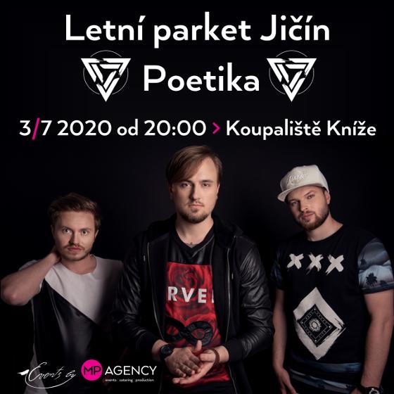 Poetika<br>Letní parket Jičín