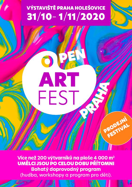Open ART Fest<br>Největší setkání umělců v ČR