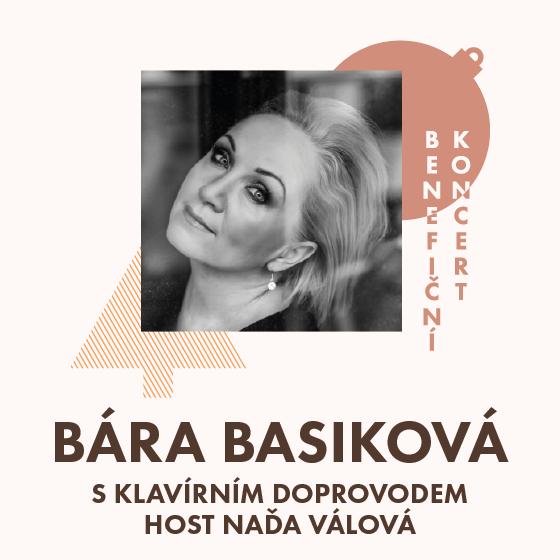 Bára Basiková a Naďa Válová<BR>Benefiční koncert
