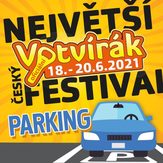 Festival Votvírák 2021<br><b><font color=red>Parkovné</font></b>