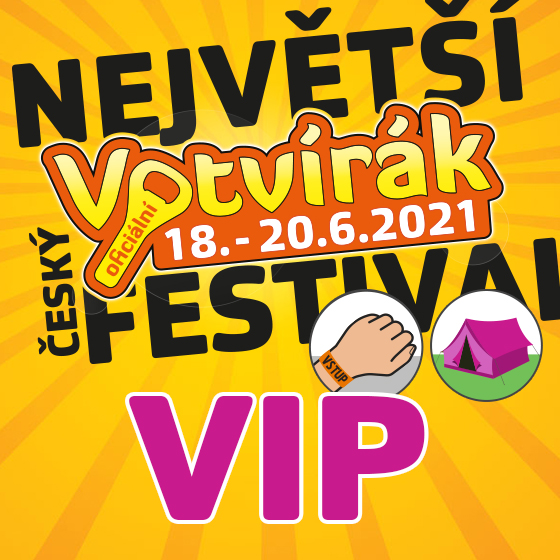 Festival Votvírák 2021<br><b><font color=red>Klubová karta VIP</font></b>