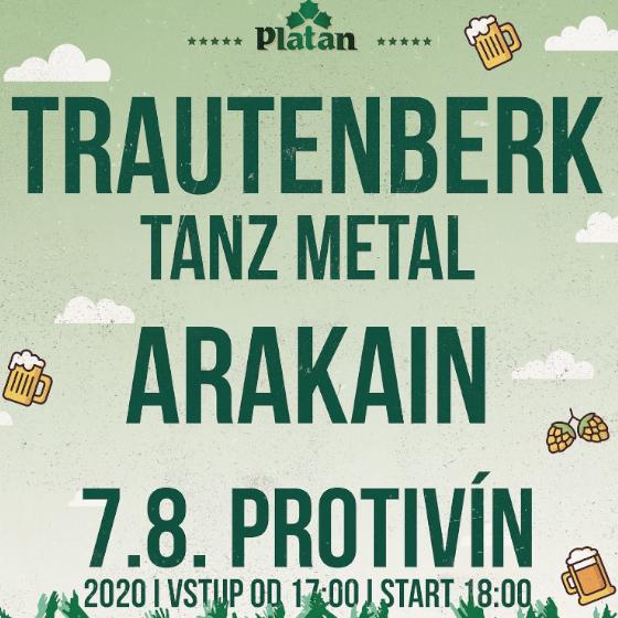 Trautenberk, Arakain<br>Protivínské výroční léto