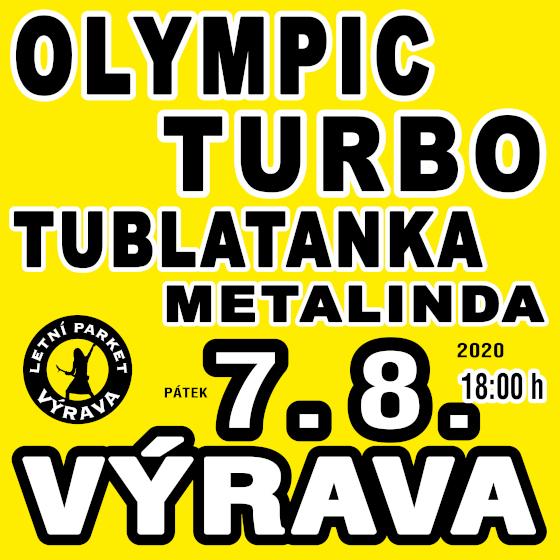 Olympic, Tublatanka, Turbo, Metalinda<br>Výrava Open Air 2020