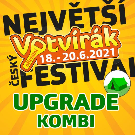Festival Votvírák 2021<br><b><font color=red>Upgrade Kombi</font></b>