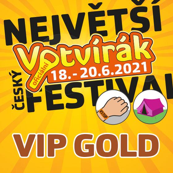 Festival Votvírák 2021<br><b><font color=red>Klubová karta VIP GOLD</font></b>