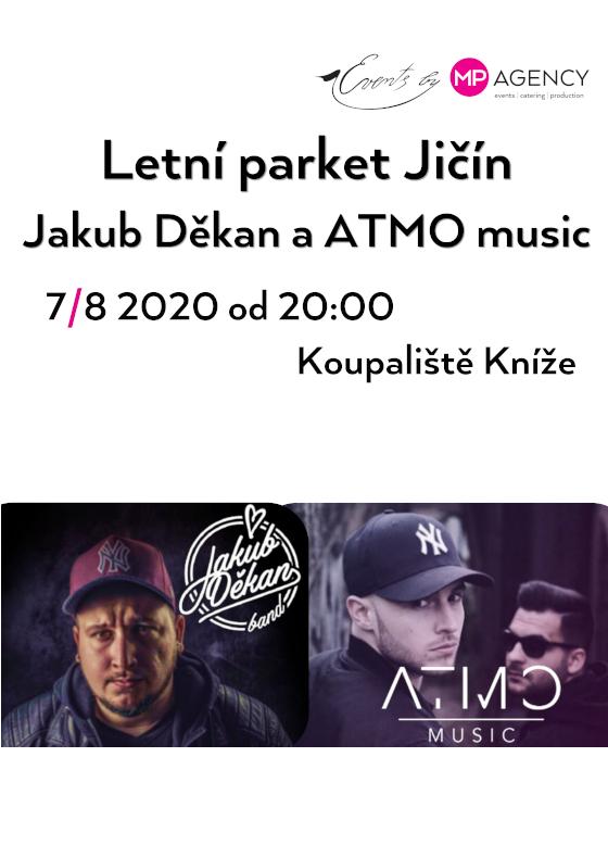 Jakub Děkan a ATMO music<br>a letní parket Jičín