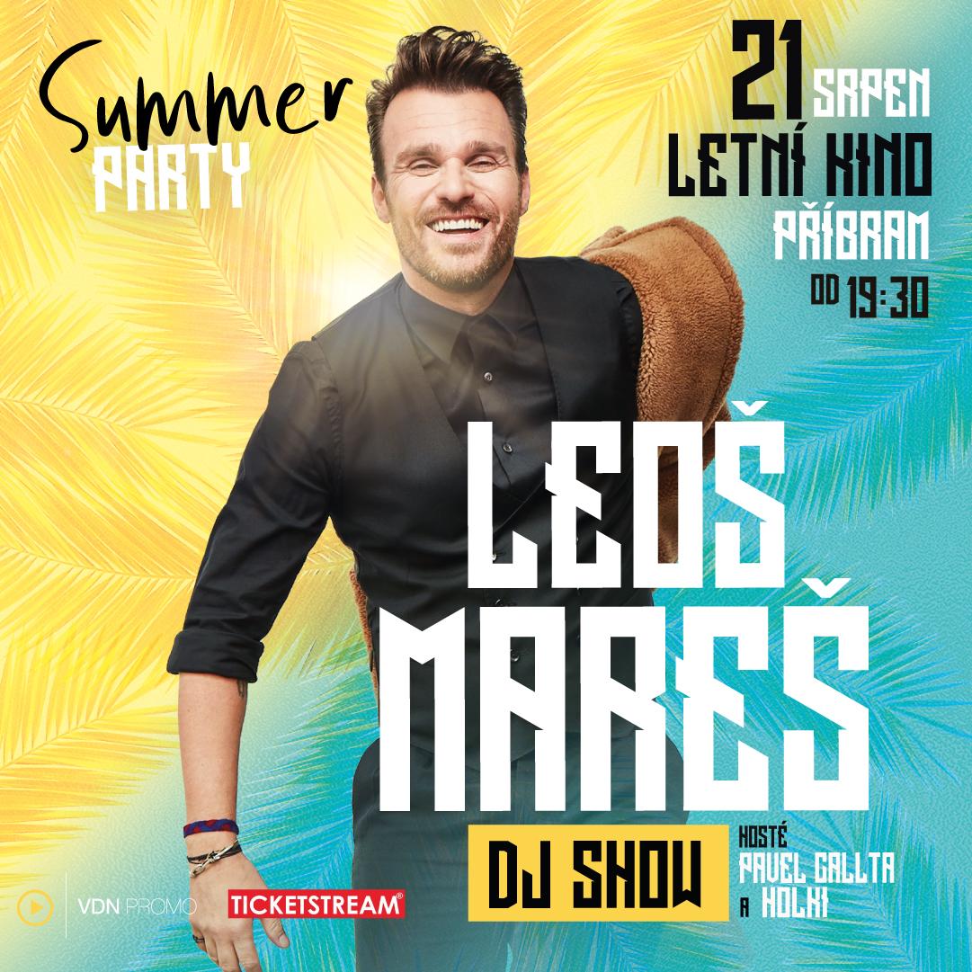 Leoš Mareš a hosté<br>Summer párty