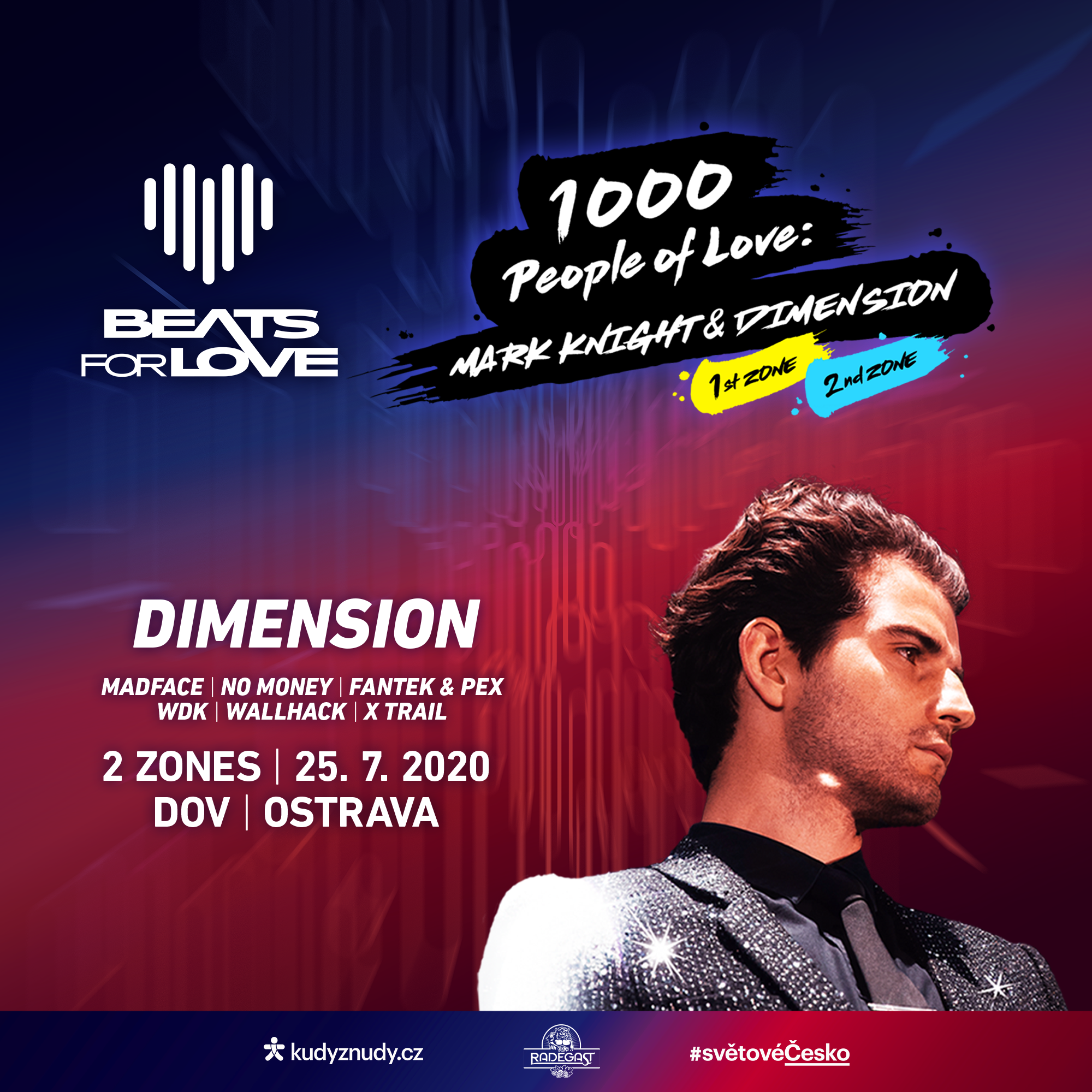Beats for Love: 1000 People of Love 2 Zone<BR>Mainstream Drum & Bass w/ Dimension