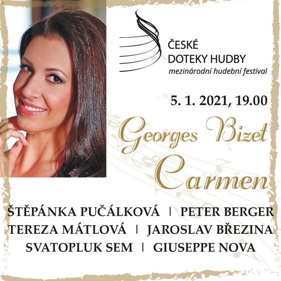 Georges Bizet - Carmen<br>České doteky hudby
