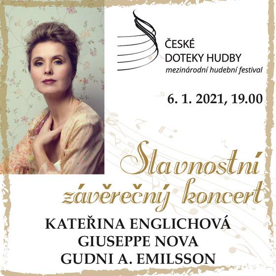 Kateřina Englichová<br>Slavnostní závěrečný koncert<br>České doteky hudby