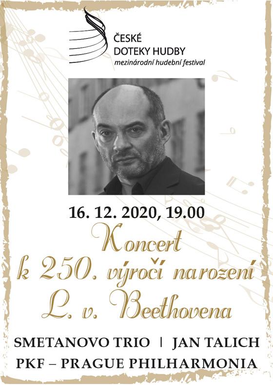 Slavnostní zahajovací koncert k 250. výročí narození L. V. Beethovena