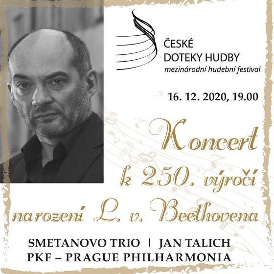 Slavnostní zahajovací koncert k 250. výročí narození L. V. Beethovena<br>České doteky hudby