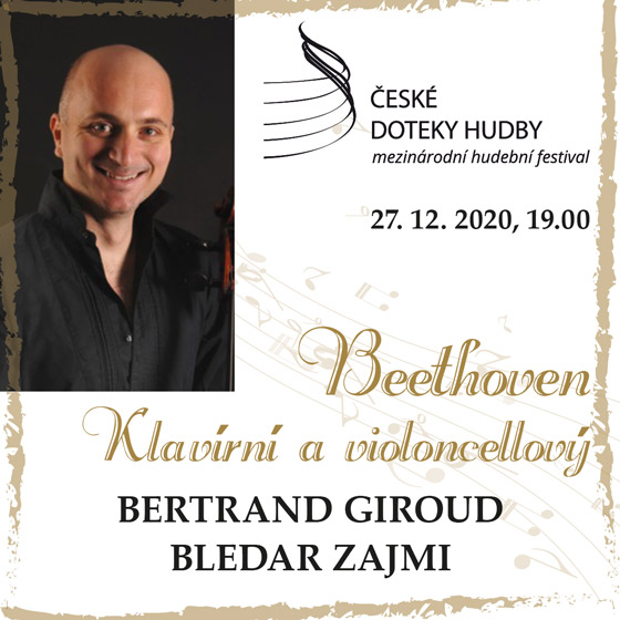 Beethoven<br>Klavírní a violoncelový<br>České doteky hudby