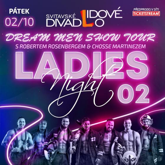 Ladies Night 02<br>Dream Men Show & Robert Rosenberg