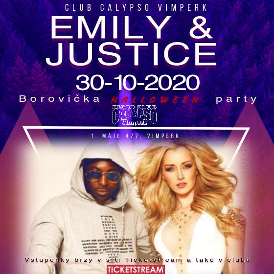 Emily a Justice<br>Borovička párty