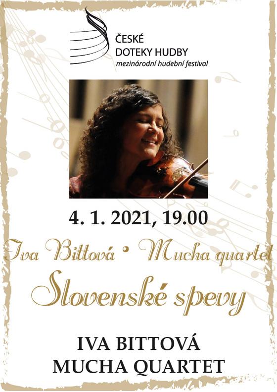 Iva Bittová a Mucha Quartet