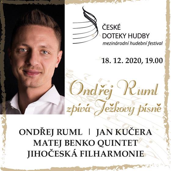 Ondřej Ruml zpívá Ježkovy písně<br>Osvobozeného divadla<br>České doteky hudby