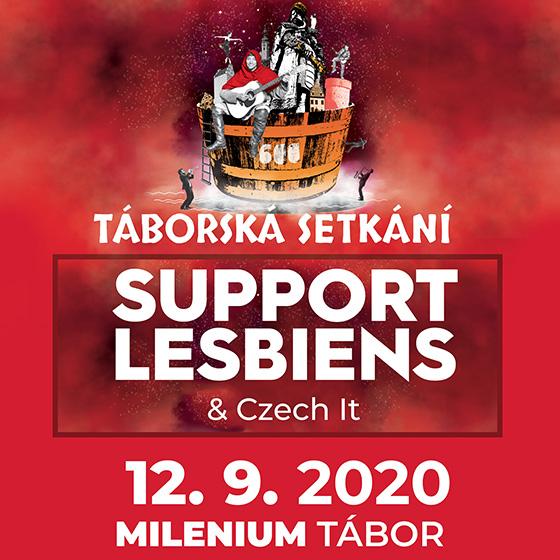 Support Lesbiens<br>Táborská setkání 2020