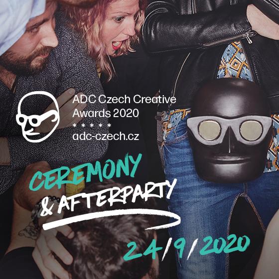 Art Directors Club<br>Czech Creative Awards 2020<br>Slavnostní vyhlášení a afterparty