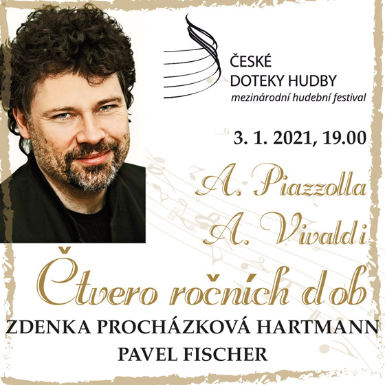 Čtvero ročních dob<br>A. Piazzolla & A. Vivaldi<br>České doteky hudby