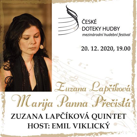 Zuzana Lapčíková - Marija panna prečistá<br>Písně adventu a Vánoc z Moravy<br>České doteky hudby