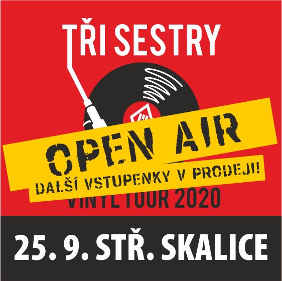 Tři sestry - Open-Air<br>Vinyl tour 2020