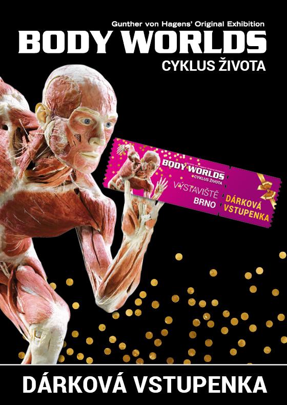 Body Worlds<br>Dárková vstupenka