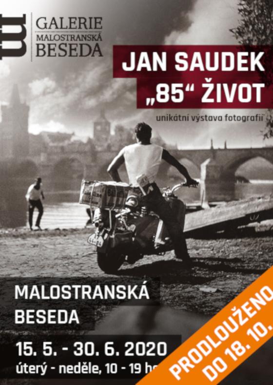 """Jan Saudek ,,85"""" ŽIVOT"""