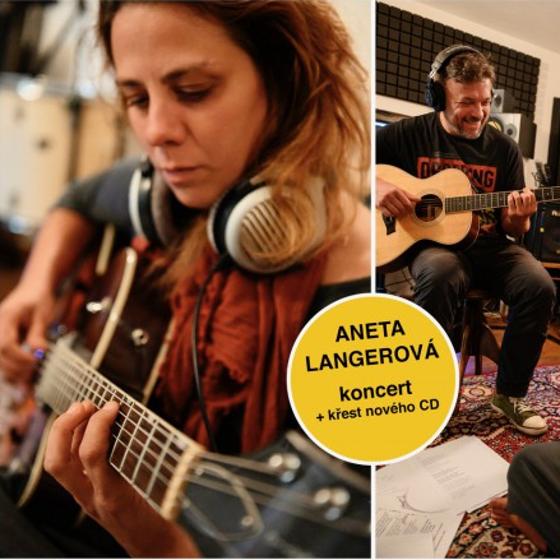 Aneta Langerová<br>Koncert + křest nového CD za doprovodu kapely a smyčcového tria
