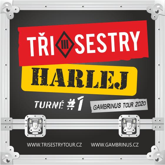 Tři Sestry & Harlej<br>Podzimní Gambrinus 11 tour 2020